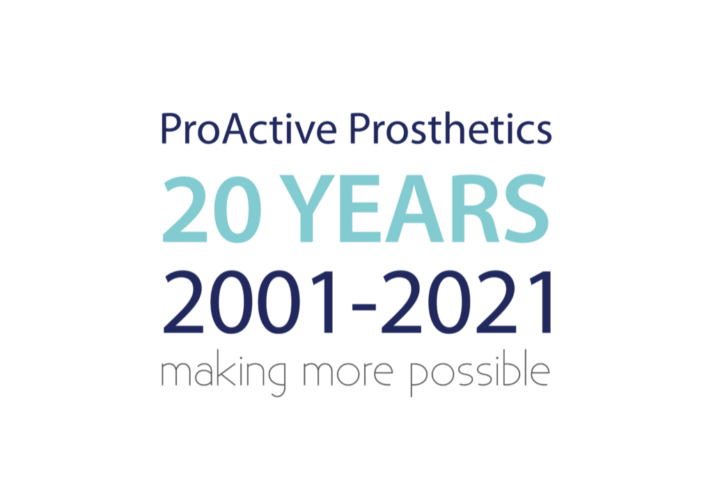 20 years of proactive full colour 1